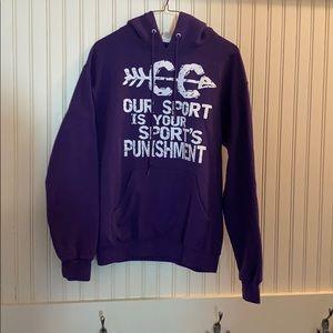 Women's or men's cross country sweatshirt